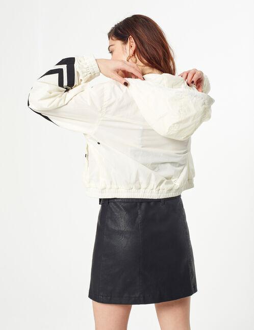 veste légère avec bandes