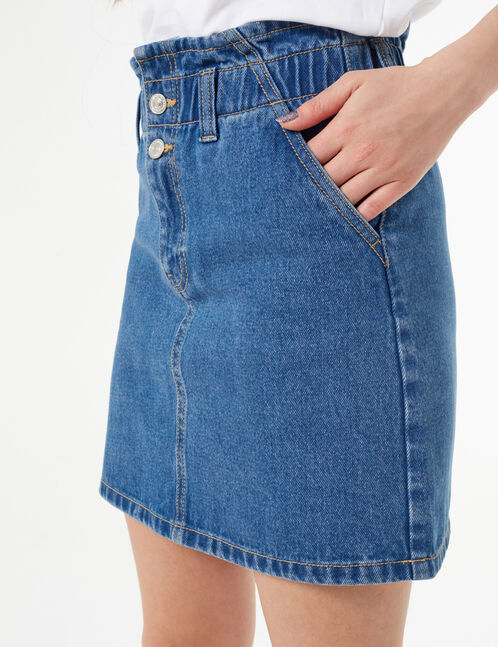 denim skirt
