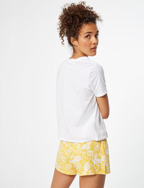 set pyjama disney roi lion