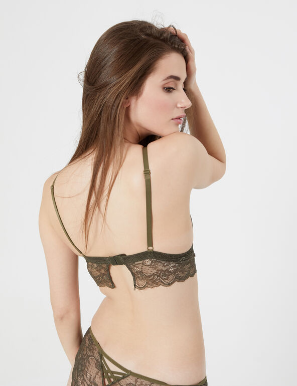 Soutien-gorge triangle camouflage