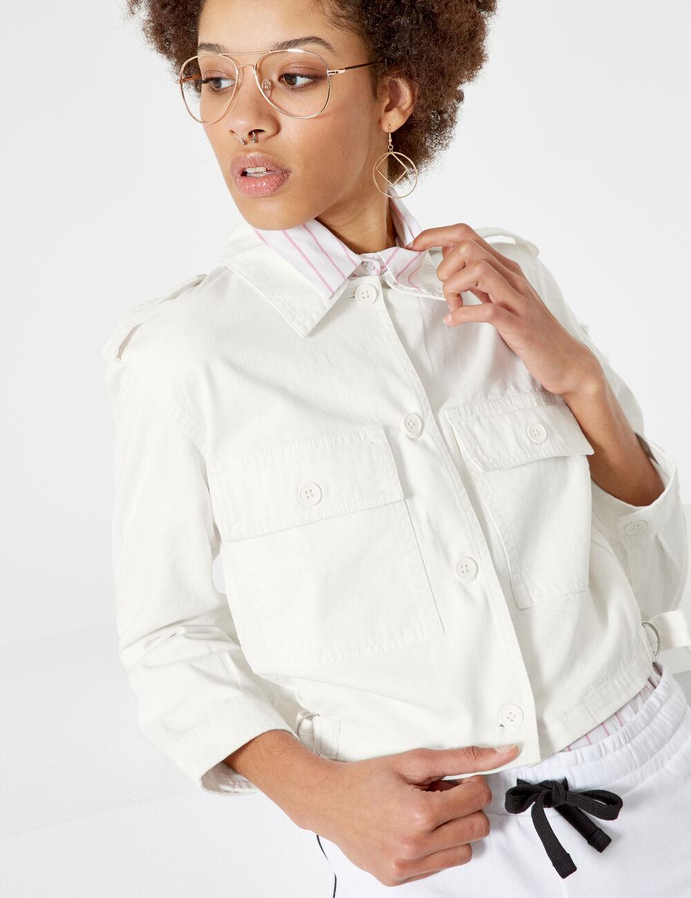 Veste blanche femme esprit