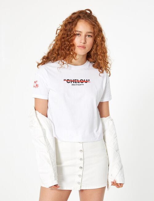 Tee-shirt don't call me chelou