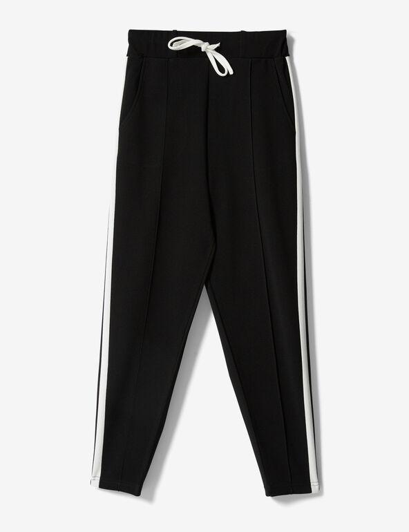 Pantalon bandes côtés noir