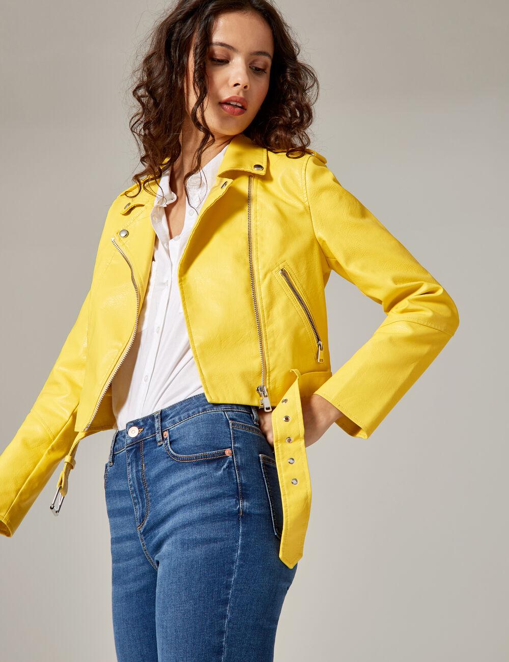 Veste jaune clair