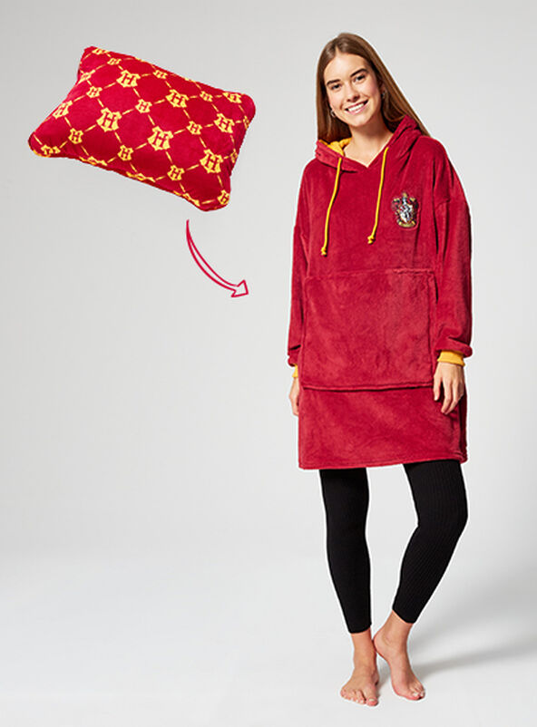 Harry Potter Gryffindor cosy hoodie