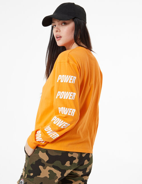 tee-shirt grl power