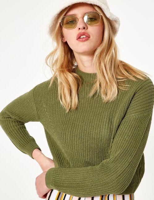 Basic khaki jumper