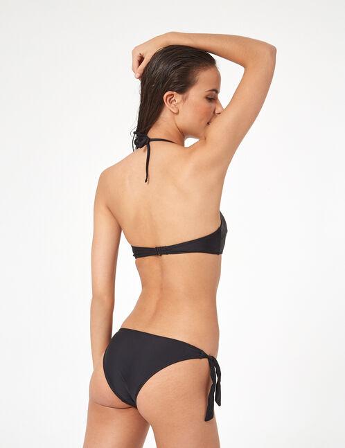 self-tie 2-piece swimsuit