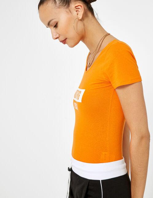 body nothing special orange