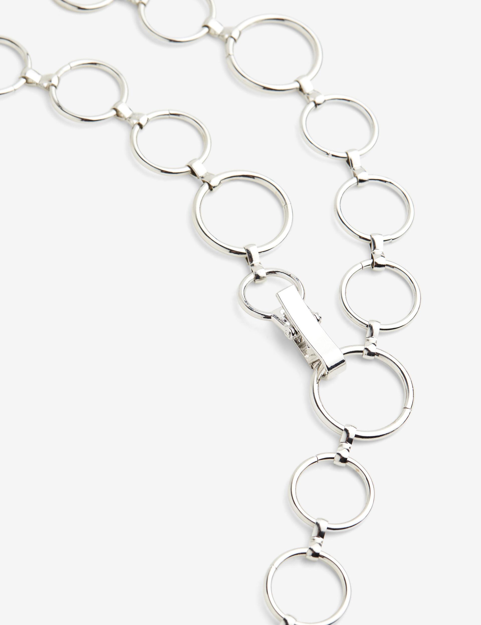Jewel buckle belt