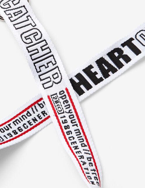 heart catcher belt