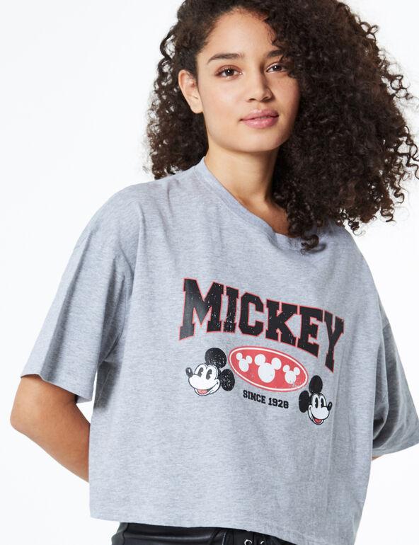 Tee-shirt court Mickey