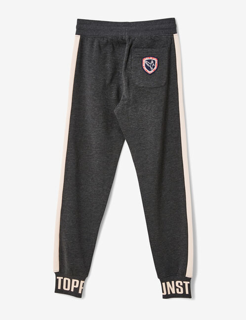 jogging unstoppable gris anthracite chiné