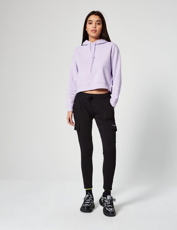 Skinny-fit joggers with pockets