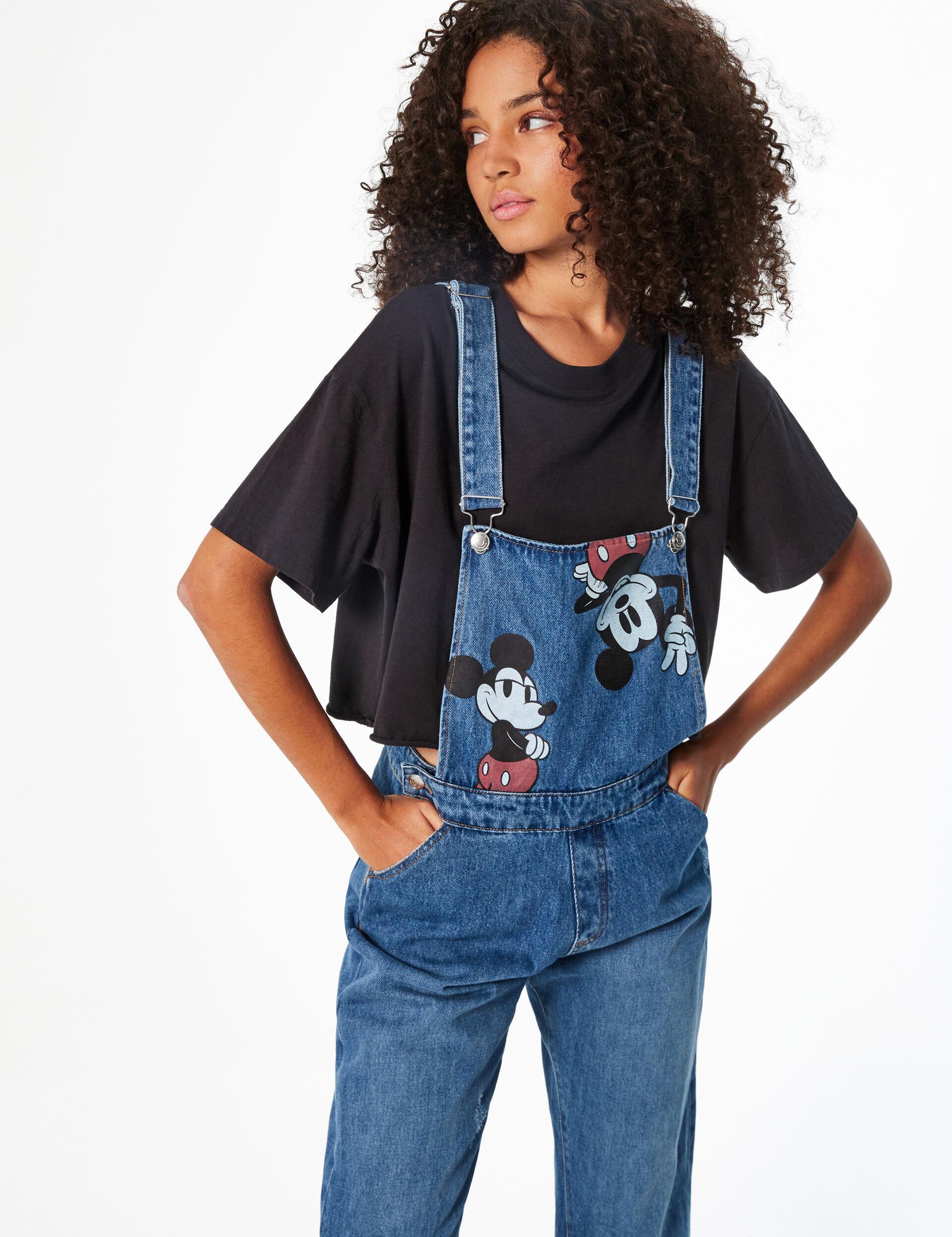 Disney Mickey denim dungarees