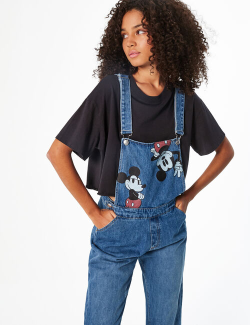 Disney Mickey denim dungarees