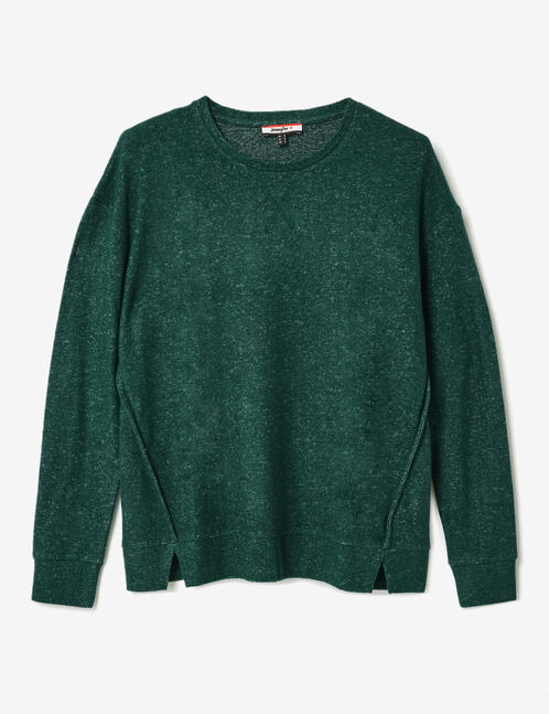 tee-shirt manches longues vert