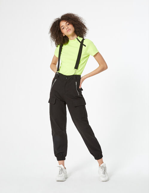 cargo trousers with straps