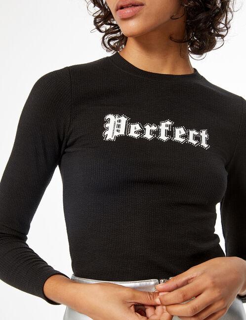 Tee-shirt côtelé perfect