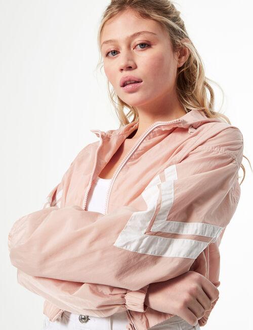 Hooded waterproof jacket