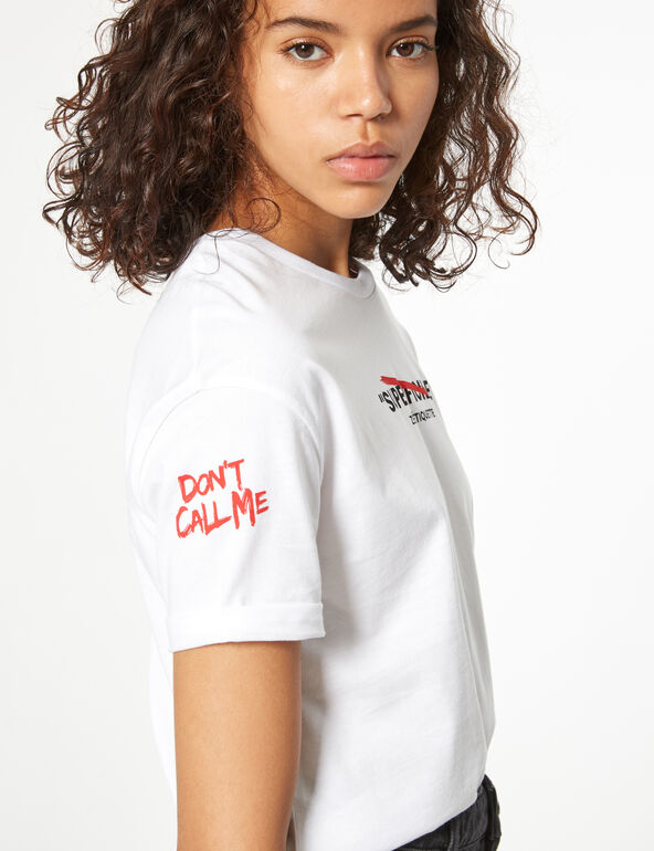 'don't call me' t-shirt