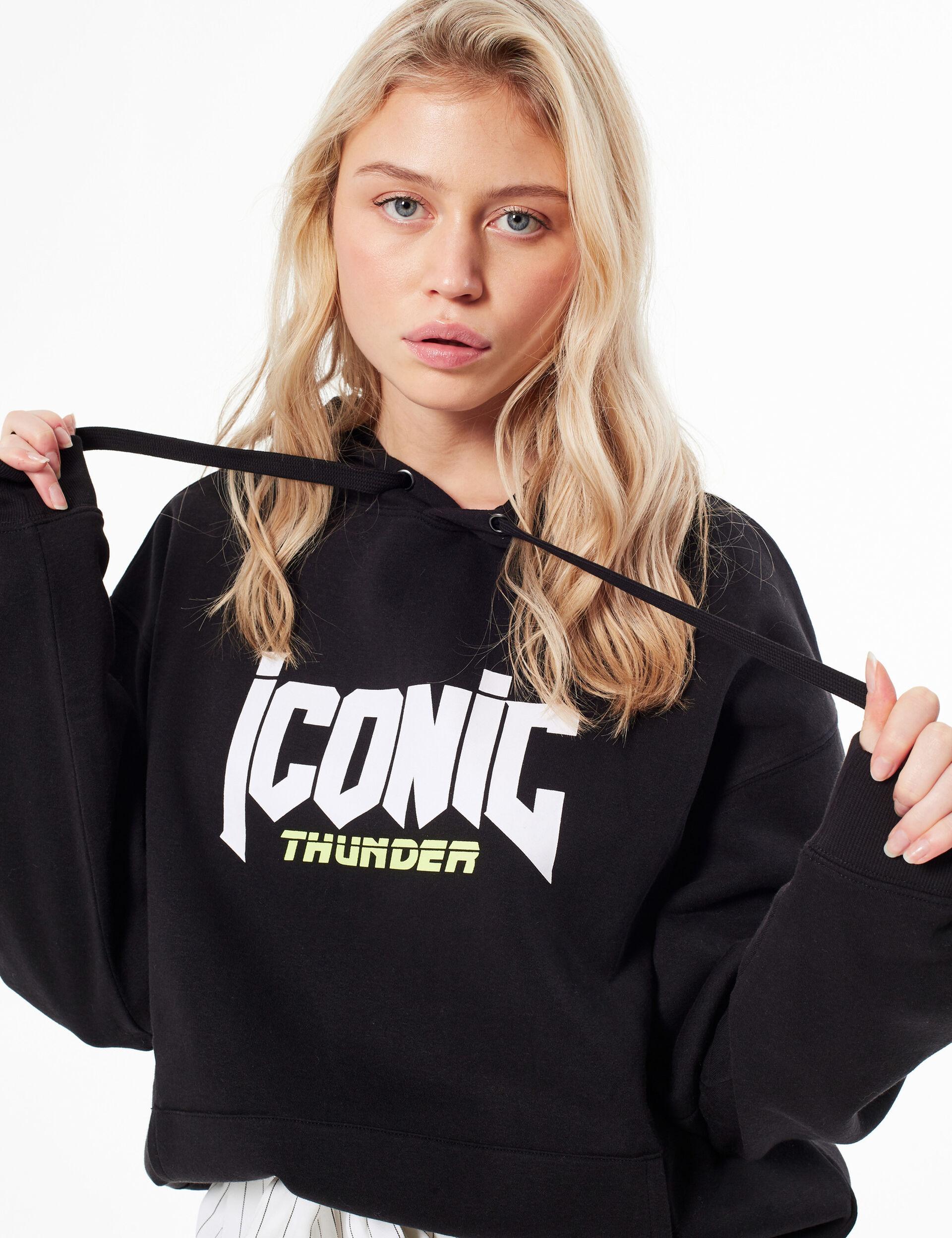'Iconic thunder' hoodie