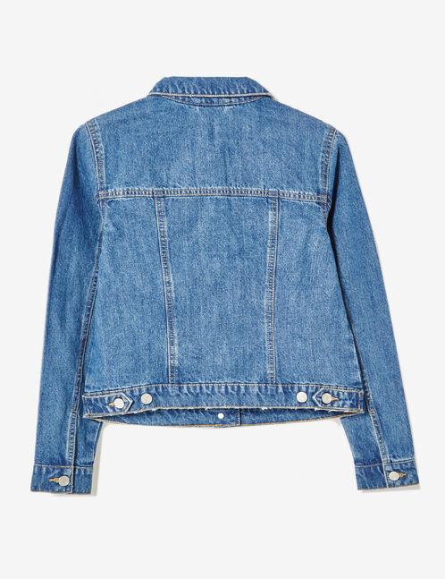 Medium blue denim jacket