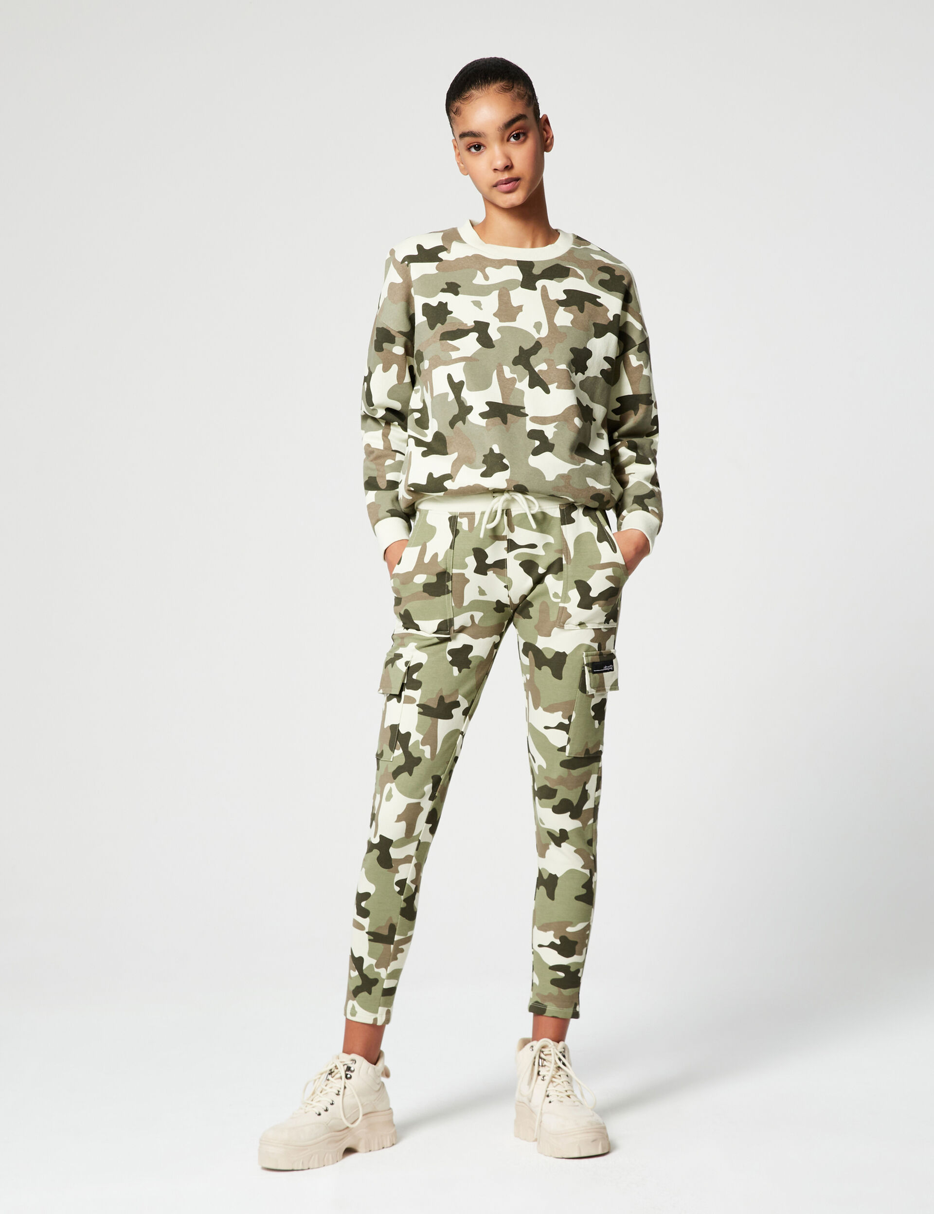 Jogging skinny camouflage