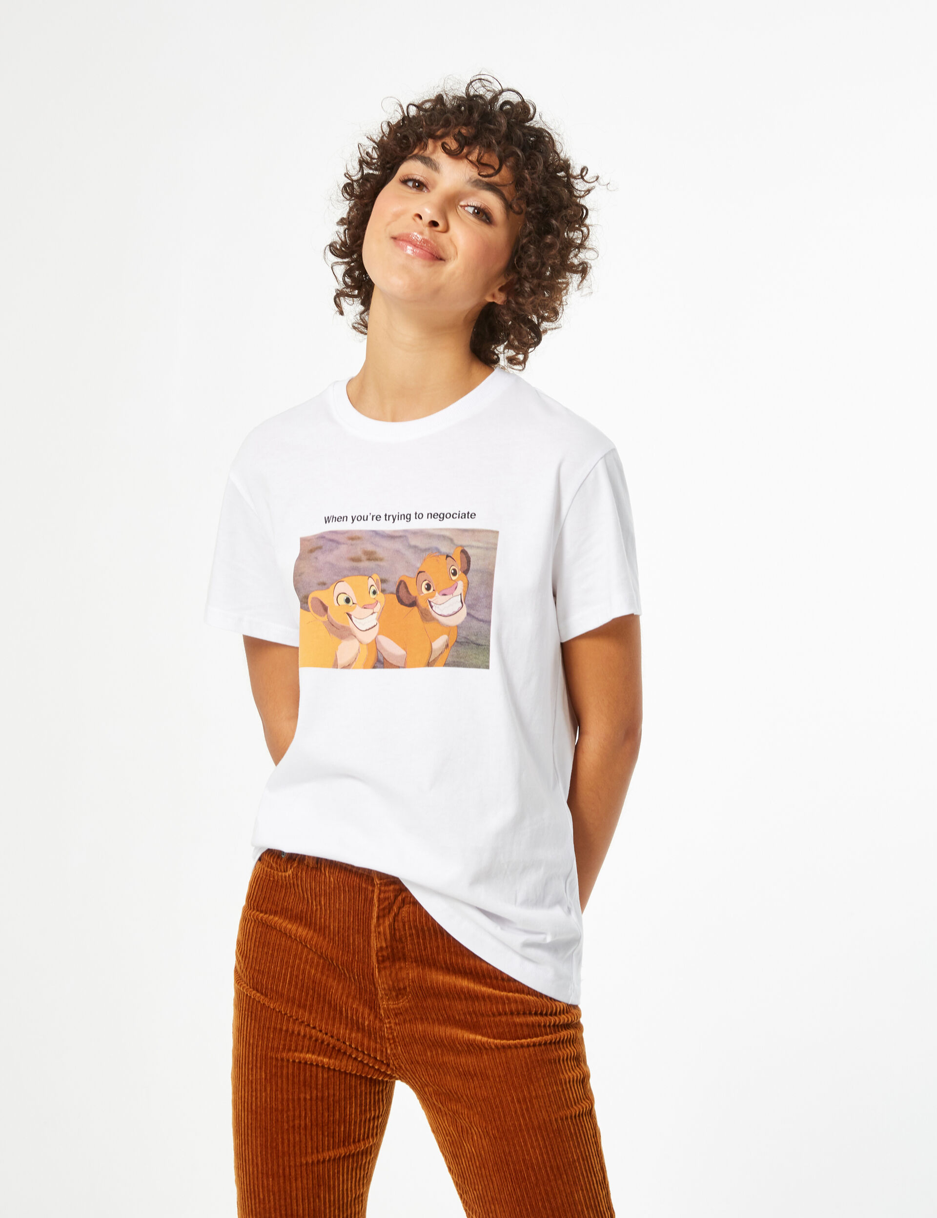 Disney lion king t-shirt