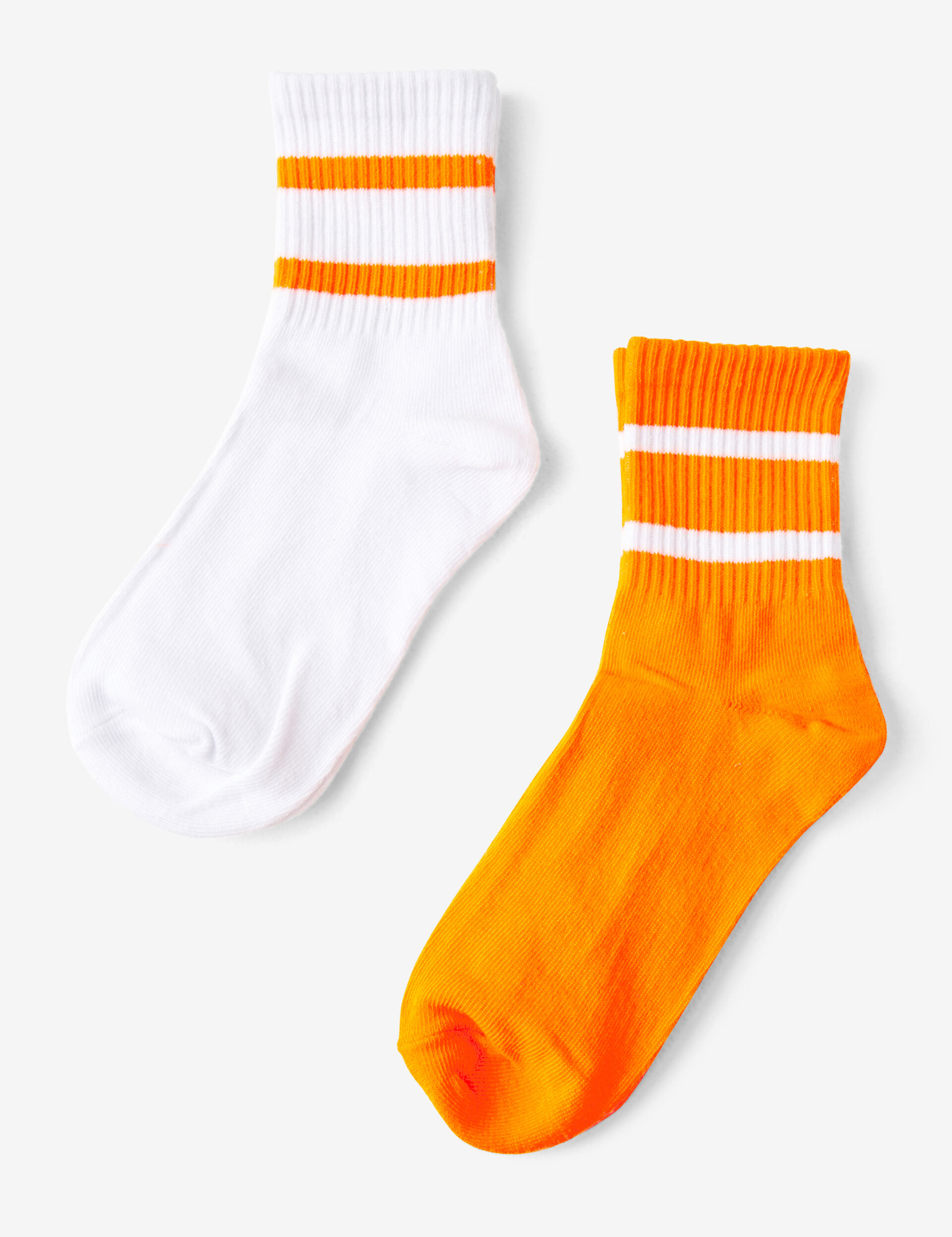 Socks with band detail