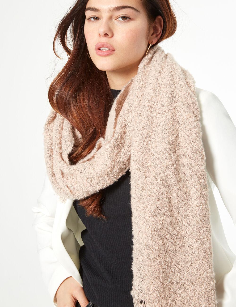 écharpe tweed