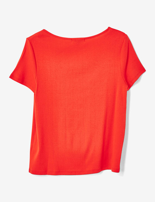 tee-shirt basic rouge