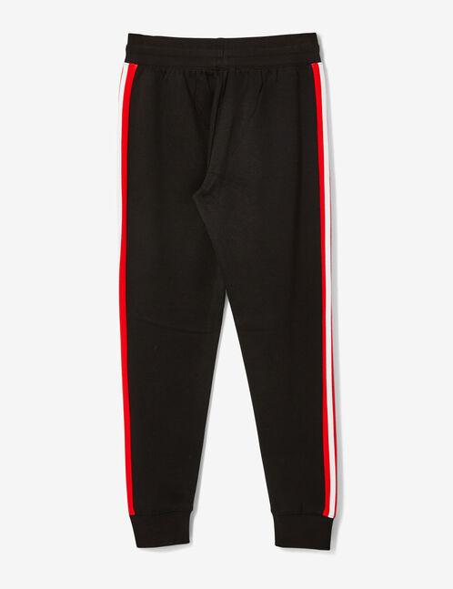 jogging rayures côtés noir