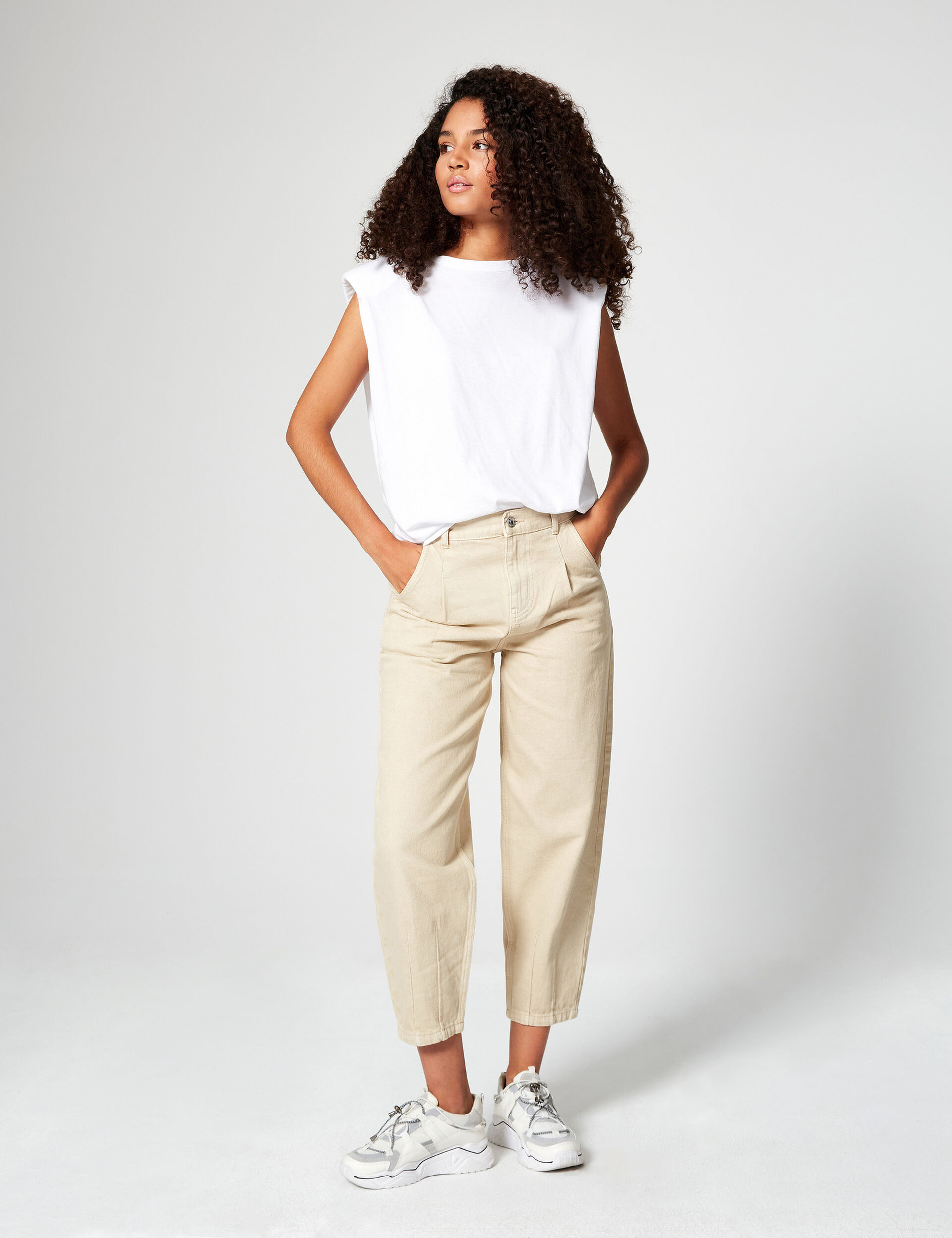 Mom trousers