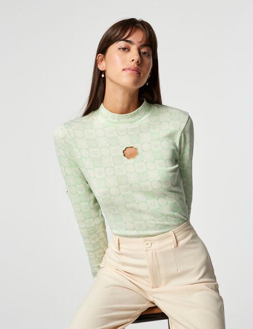 Tee-shirt col montant Chupa Chups
