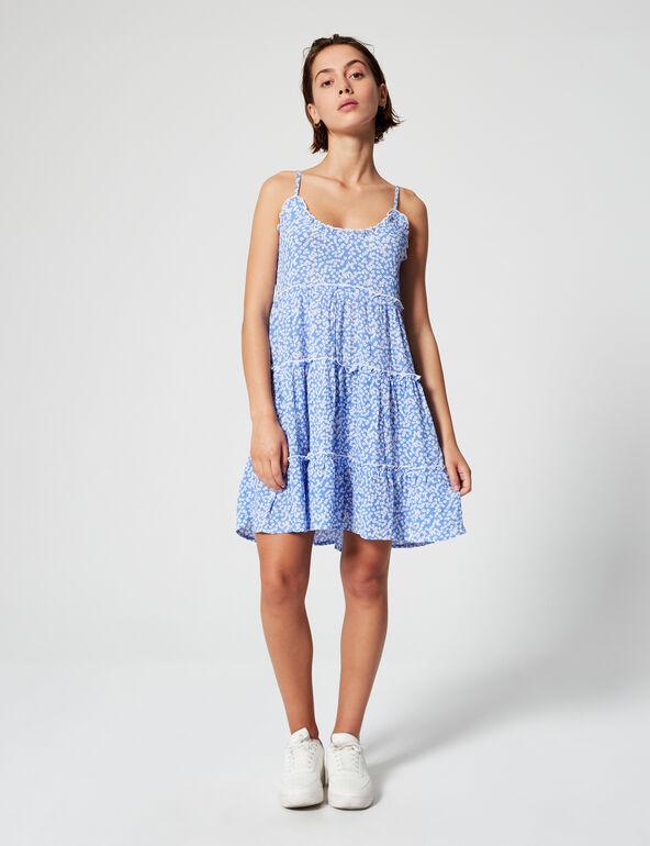 Printed minidress