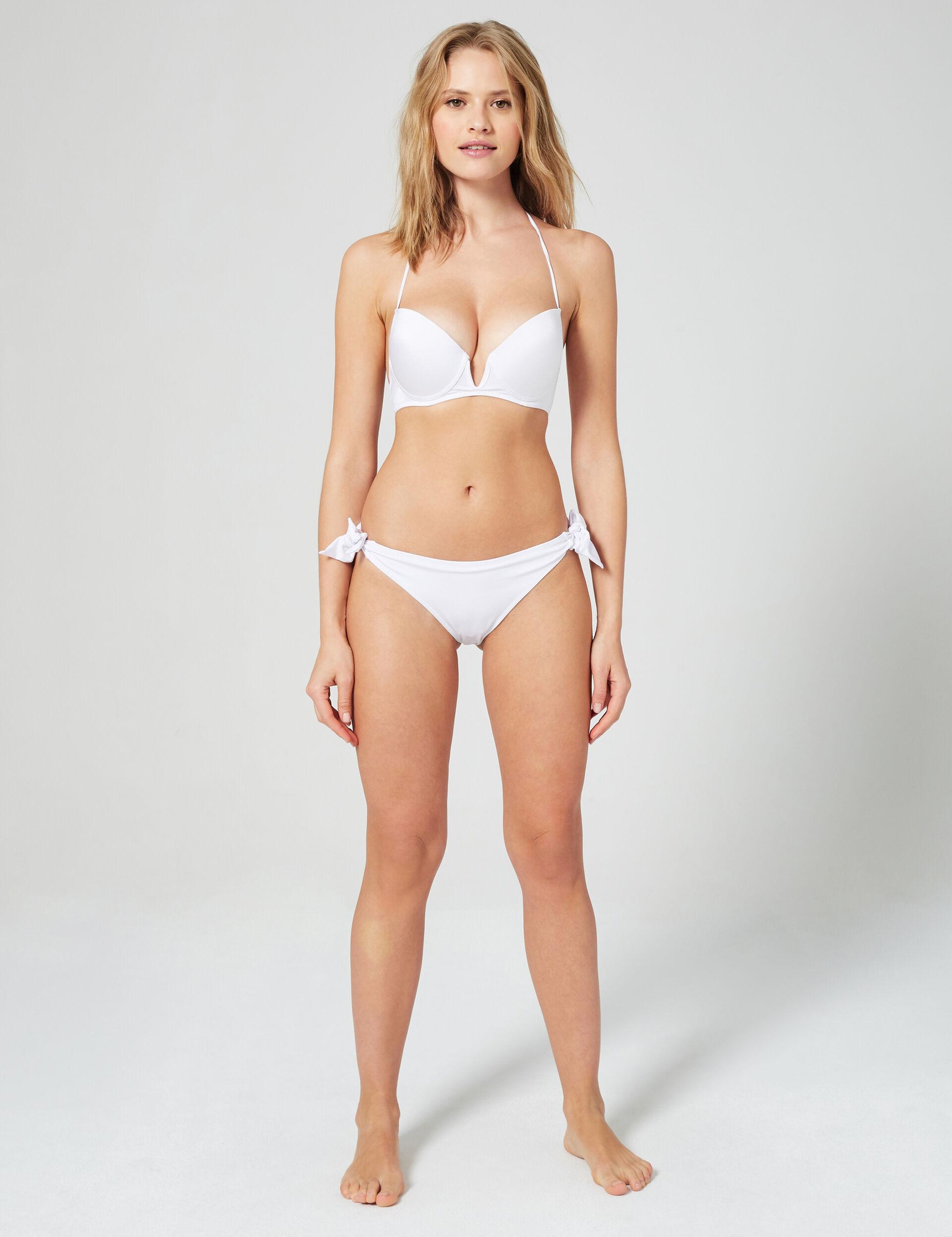 Satin finish bikini briefs