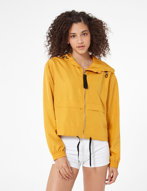 Ochre lightweight jacket