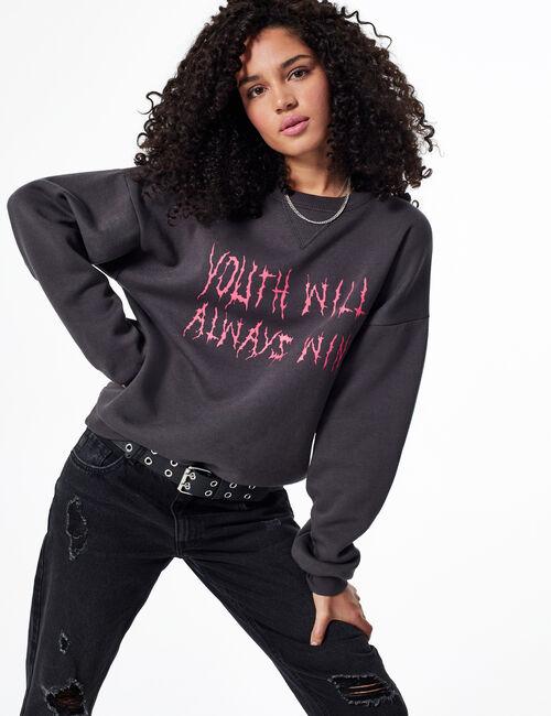 'Youth will always win' sweatshirt