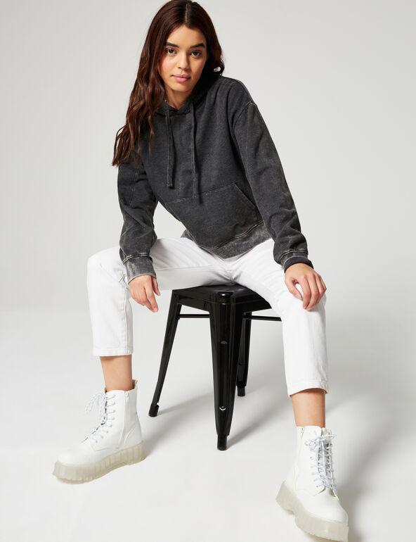 Faded hoodie