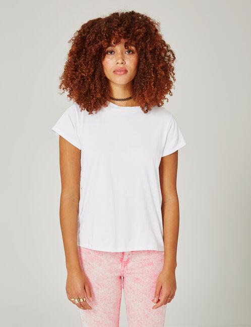 tee-shirt basic blanc