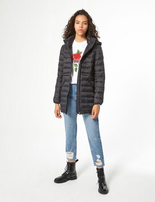Long padded jacket