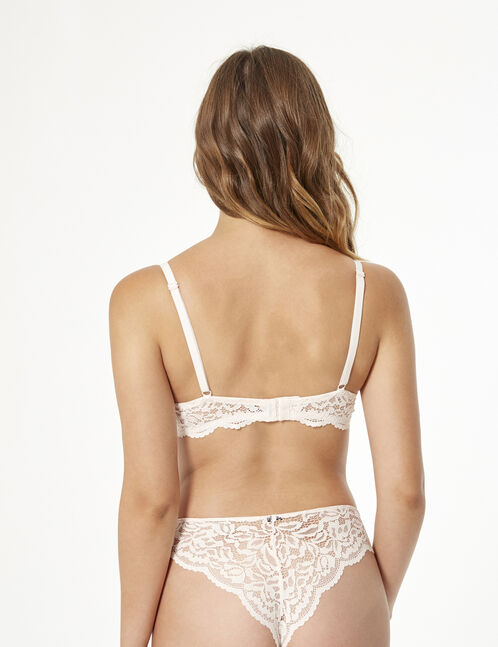 Lace tanga briefs