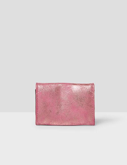 Light pink iridescent purse
