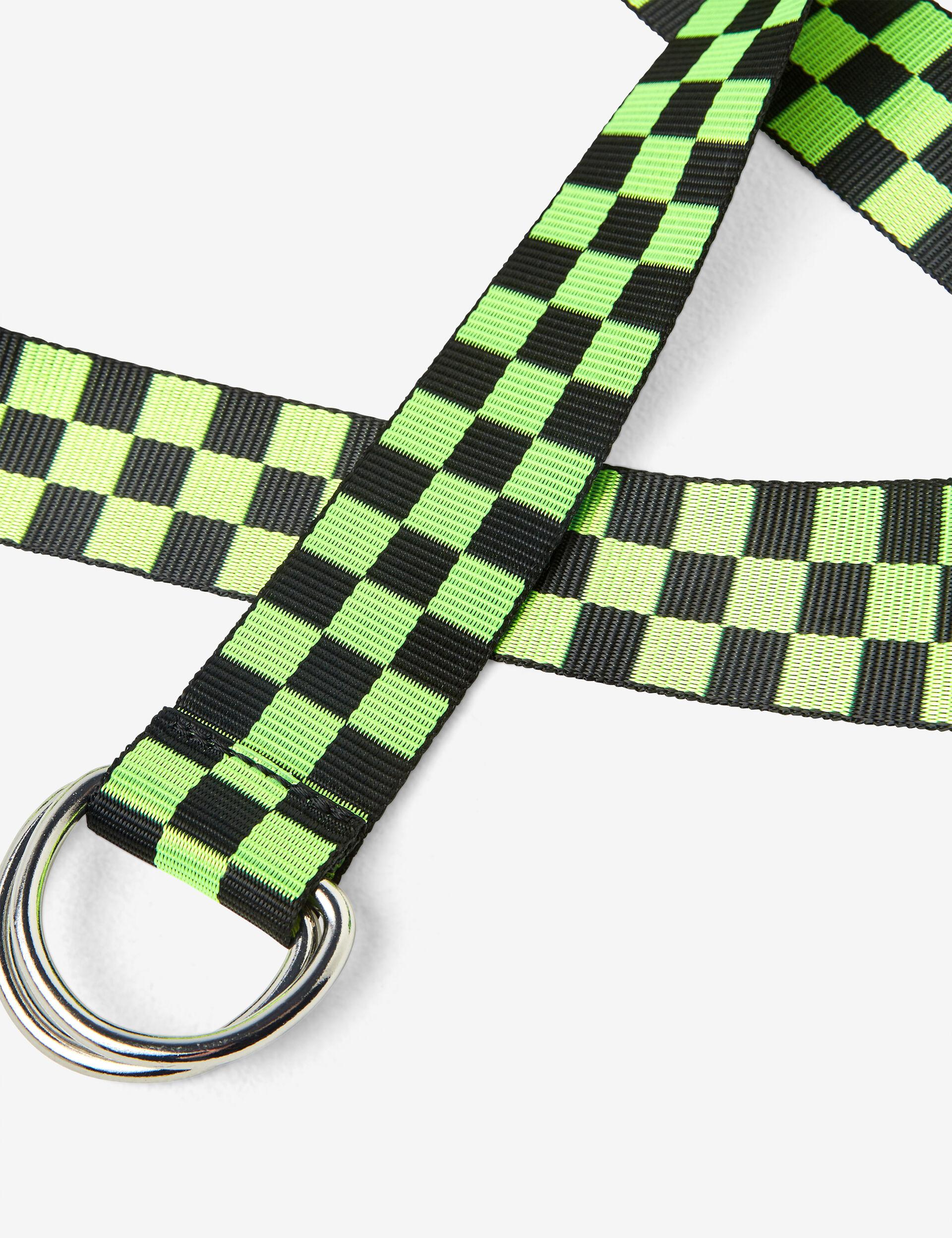 Checked belt