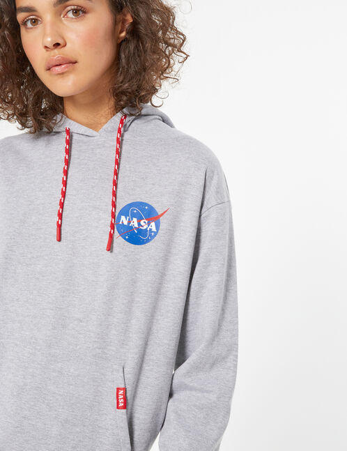 Sweat à capuche nasa