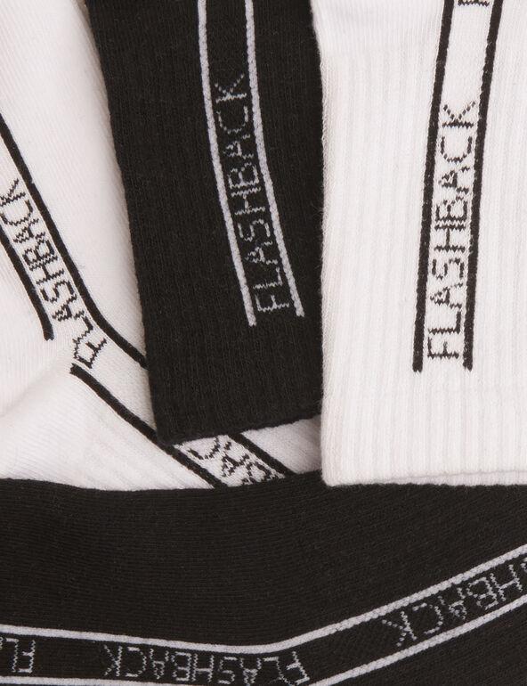 Chaussettes à message