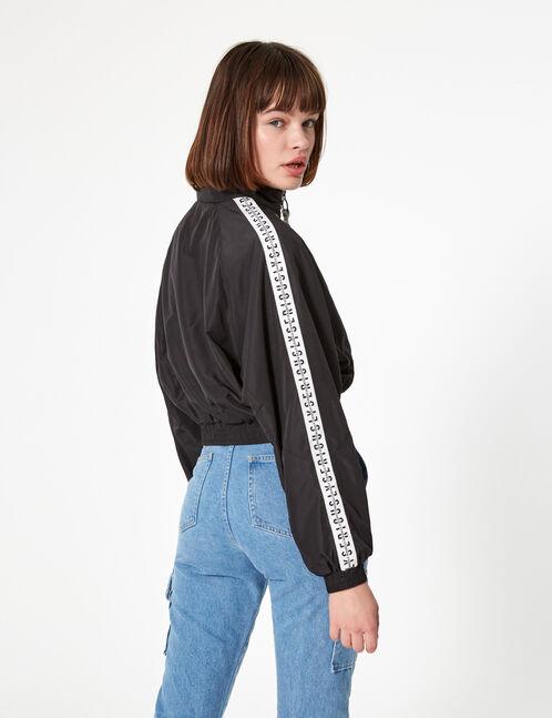 veste légère noire