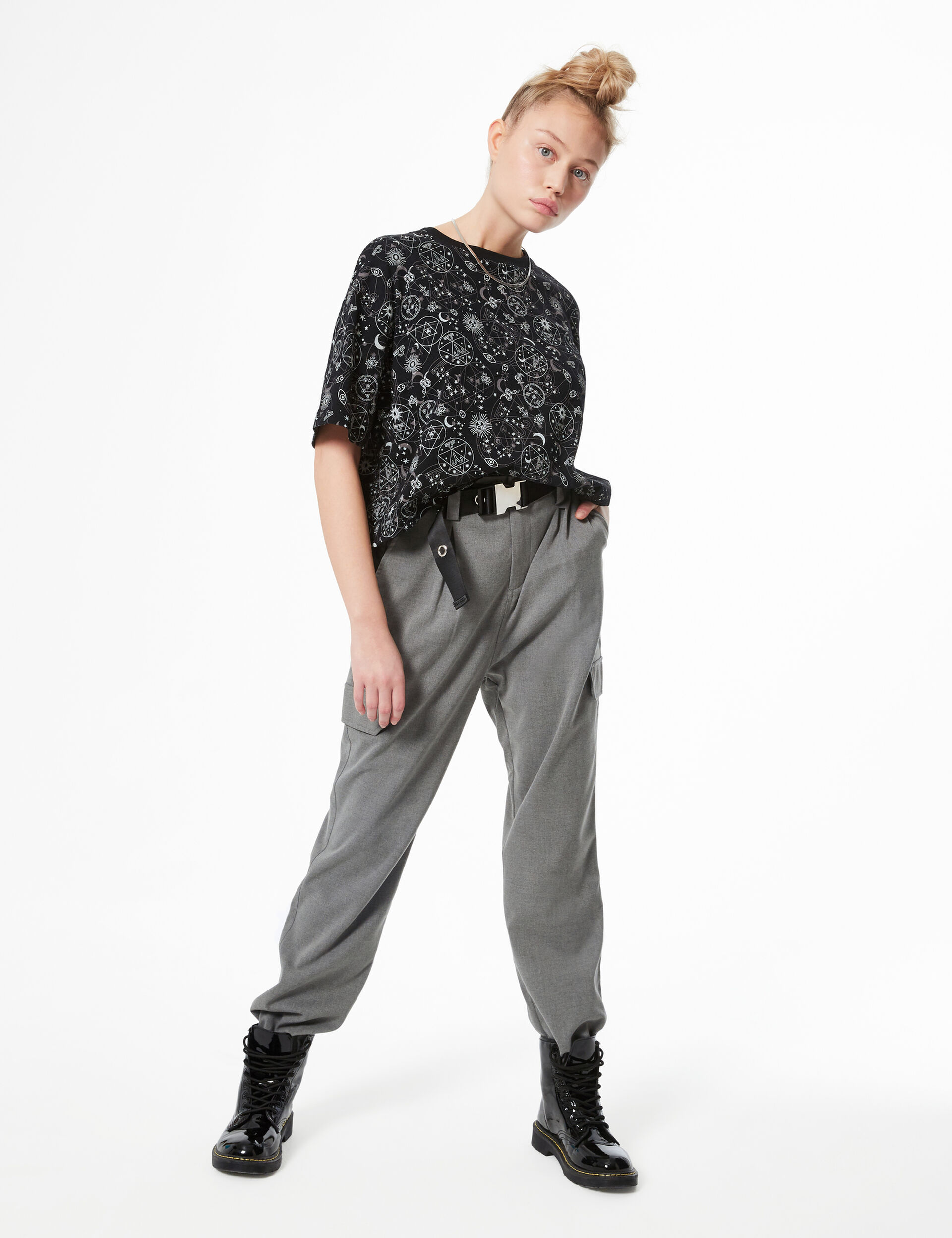 Tee-shirt imprimé astral