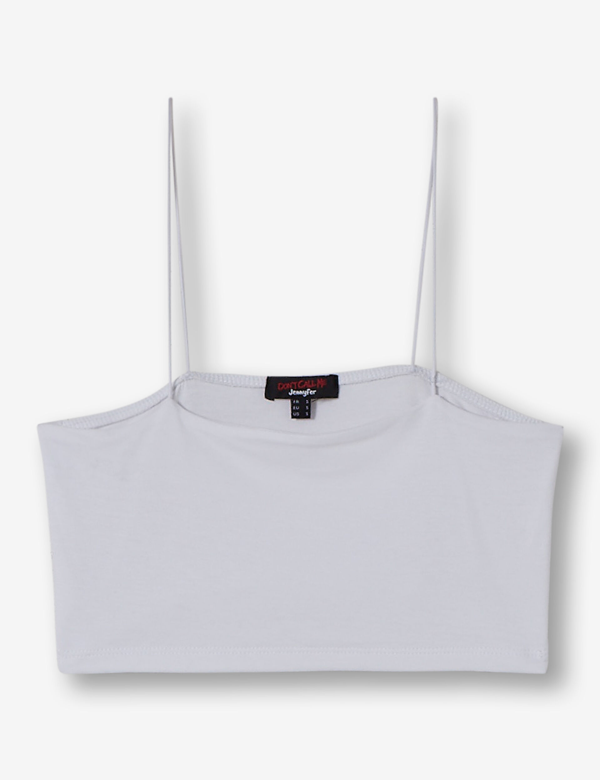 Bandeau cropped top